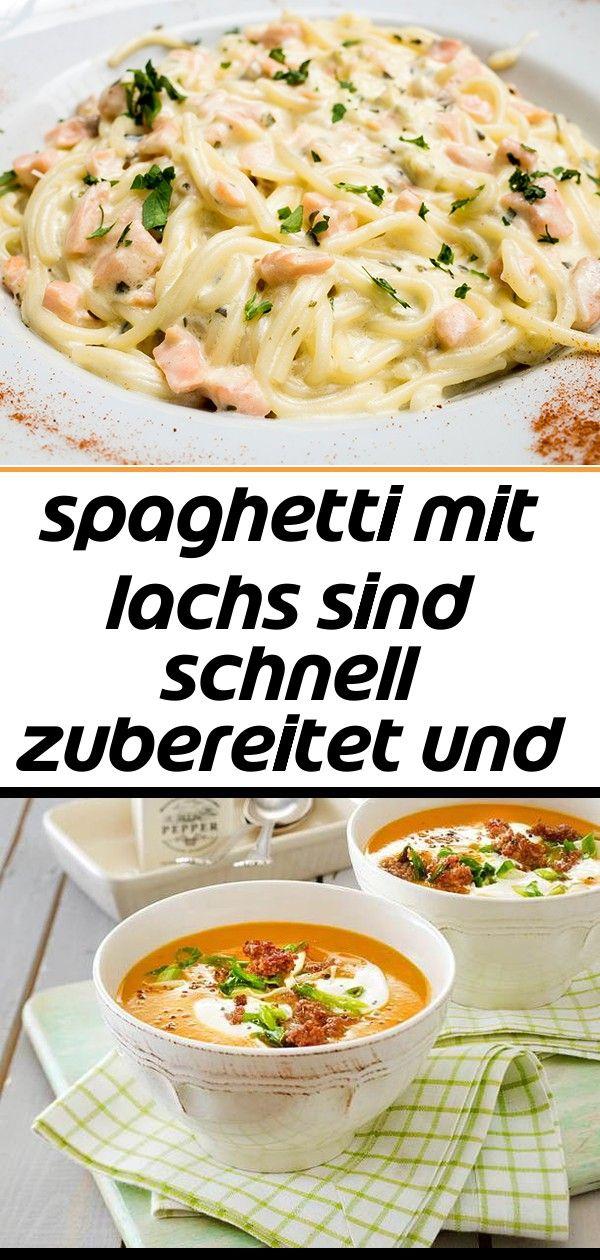 Spaghetti mit lachs sind schnell zubereitet und schmecken einfach umwerfend hier das gesunde reze 1 Spaghetti mit Lachs sind schnell zubereitet und schmecken einfach umwe...