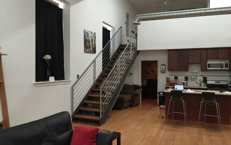 Experience local: A spacious 2-bedroom loft in a quiet city block on Poplar Street, Francisville - just 2 minutes away from the heart of Philadelphia.