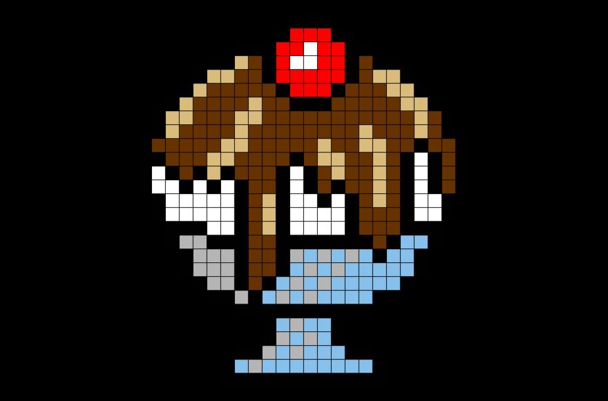 sundae pixel art