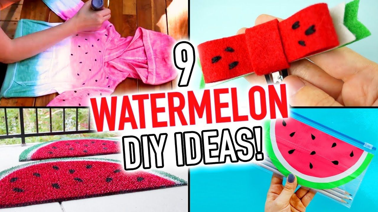 9 Cute Watermelon Diy Ideas For The Summer Hgtv Handmade