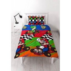 super mario sengetøj