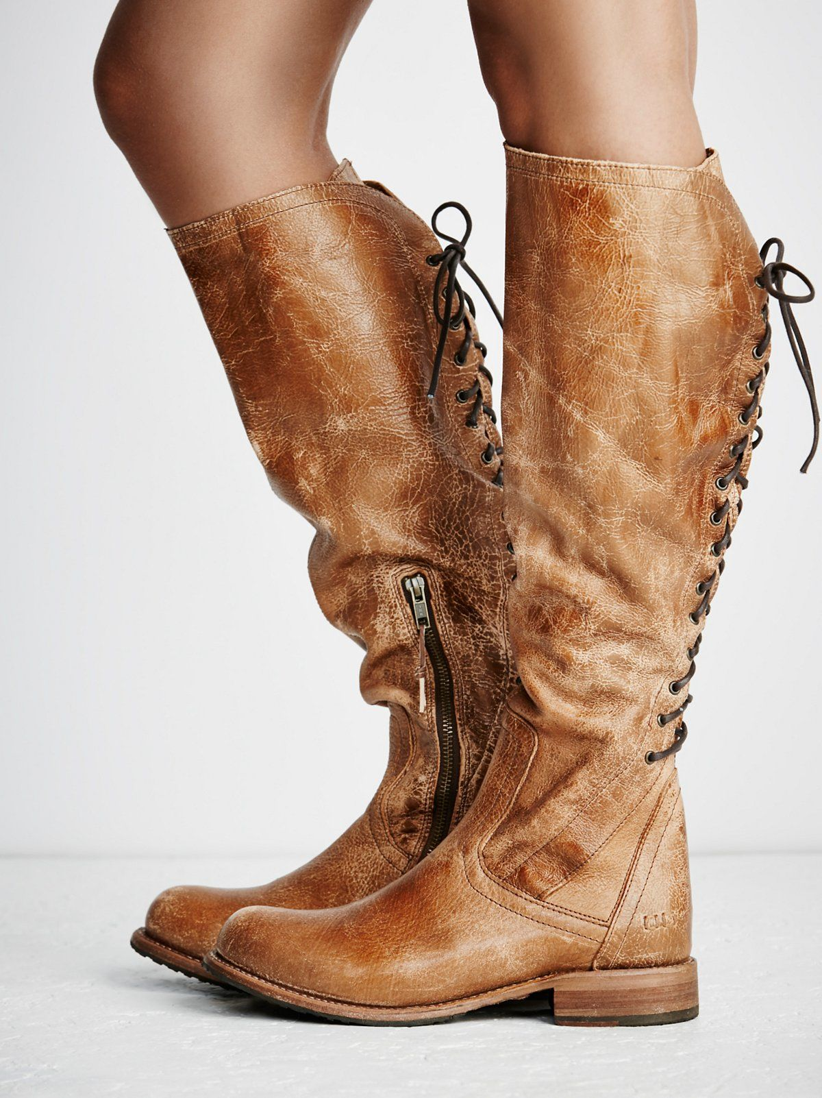 Surry Lace Back Boot   Boots