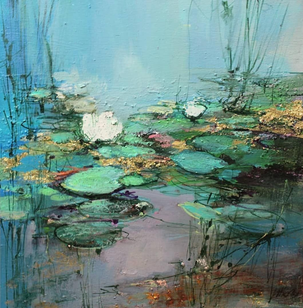 Globalart Discover Inspiration On Instagram Magdalena Morey Artist Arttherapy Artofinstagram Art Landscape Paintings Abstract Painting Abstract Landscape