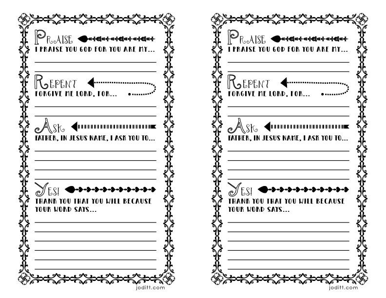 prayer book template - war room prayer journal template free printable