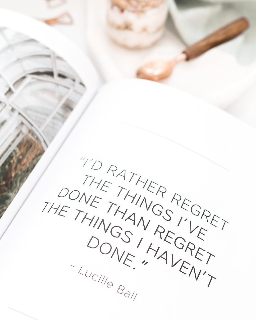 """""""I'd rather regret the things i've done than regret the things I haven't done."""" -Lucille Ball _ Keep working towards your goals. Your biggest obstacle is often times yourself. Don't let it be. #hcstyledstock #findyourscript #noregrets"""