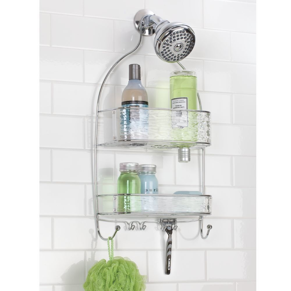 Wavz Plastic Hanging Shower Caddy   Products   Pinterest   Bathtub ...