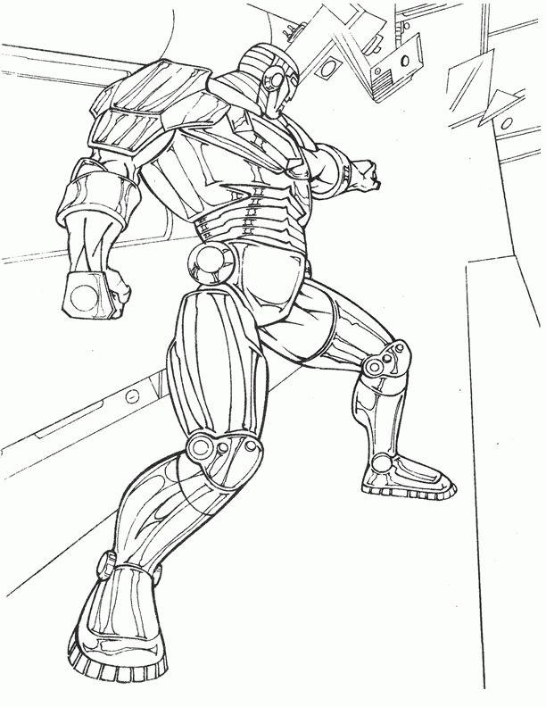 Iron Man 22 Ausmalbilder für Kinder. Malvorlagen zum ...