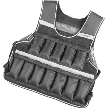 Weider 20 Lb Weighted Vest, MultiColor Weighted vest