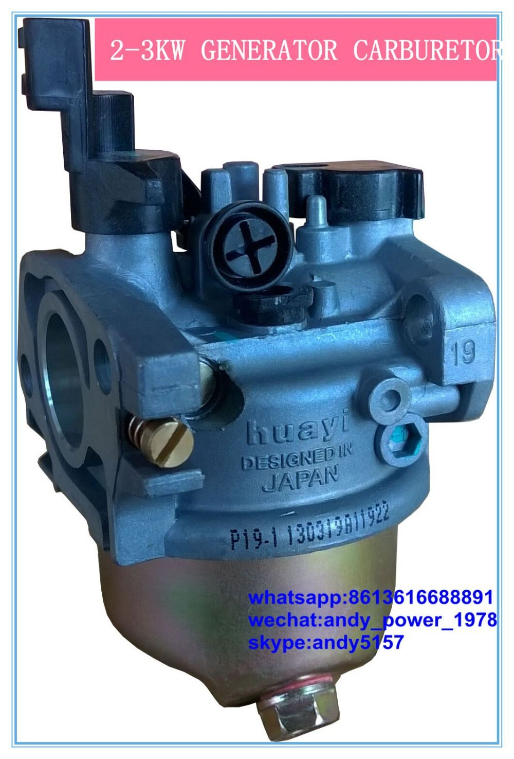 Aliexpress Com Buy Details About Huayi Carburetor Generator Gx160 Gx200 5 5hp 6 5hp 168f 2kw 3kw Generator From Reli Carburetor Generation Generator Parts