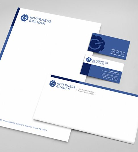 Stationary Design For Investment Firm Graphic Design Firms Business Design Investment Firms