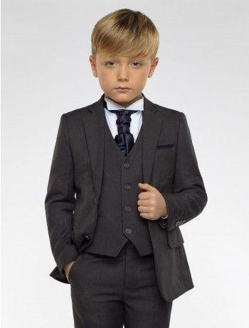 49df567bd295 Boys blue & navy suit - Kingsman | ღೋ In My Dreams | Charcoal gray ...