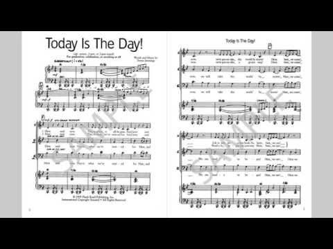 Today Is The Day - MusicK8.com Singles Reproducible Kit - YouTube