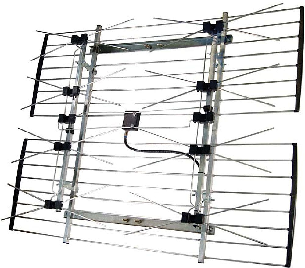 How To Build A Long Range Tv Antenna Long Range Tv Antenna Tv Antenna Antenna