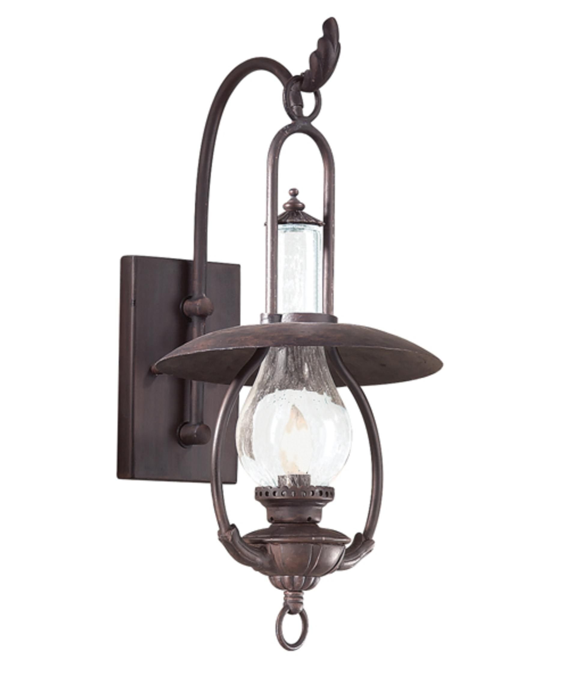 Troy Lighting La Grange H 1 Light Outdoor Wall Sconce