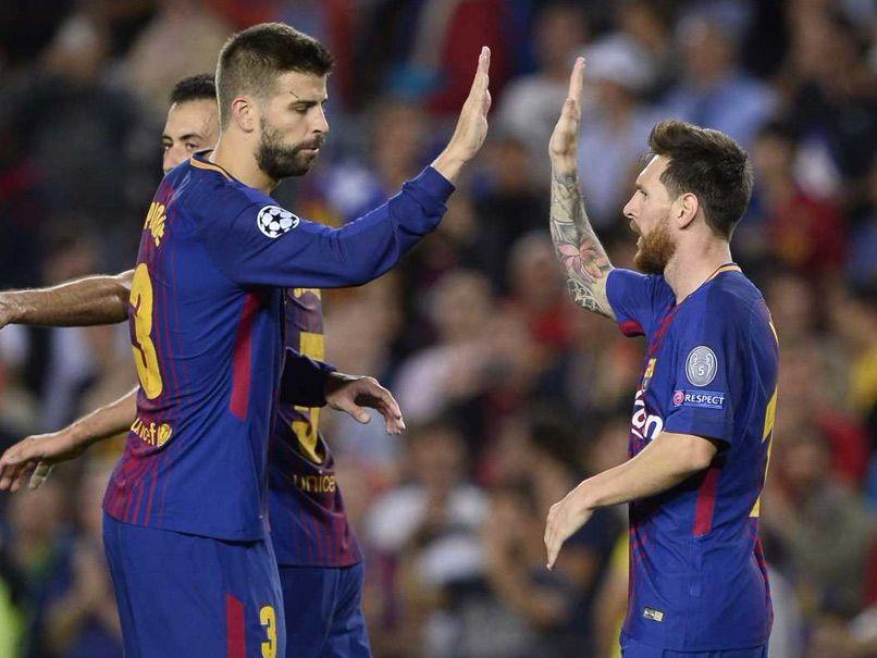 Lionel Messi Inspires Barcelona PSG Win Champions League