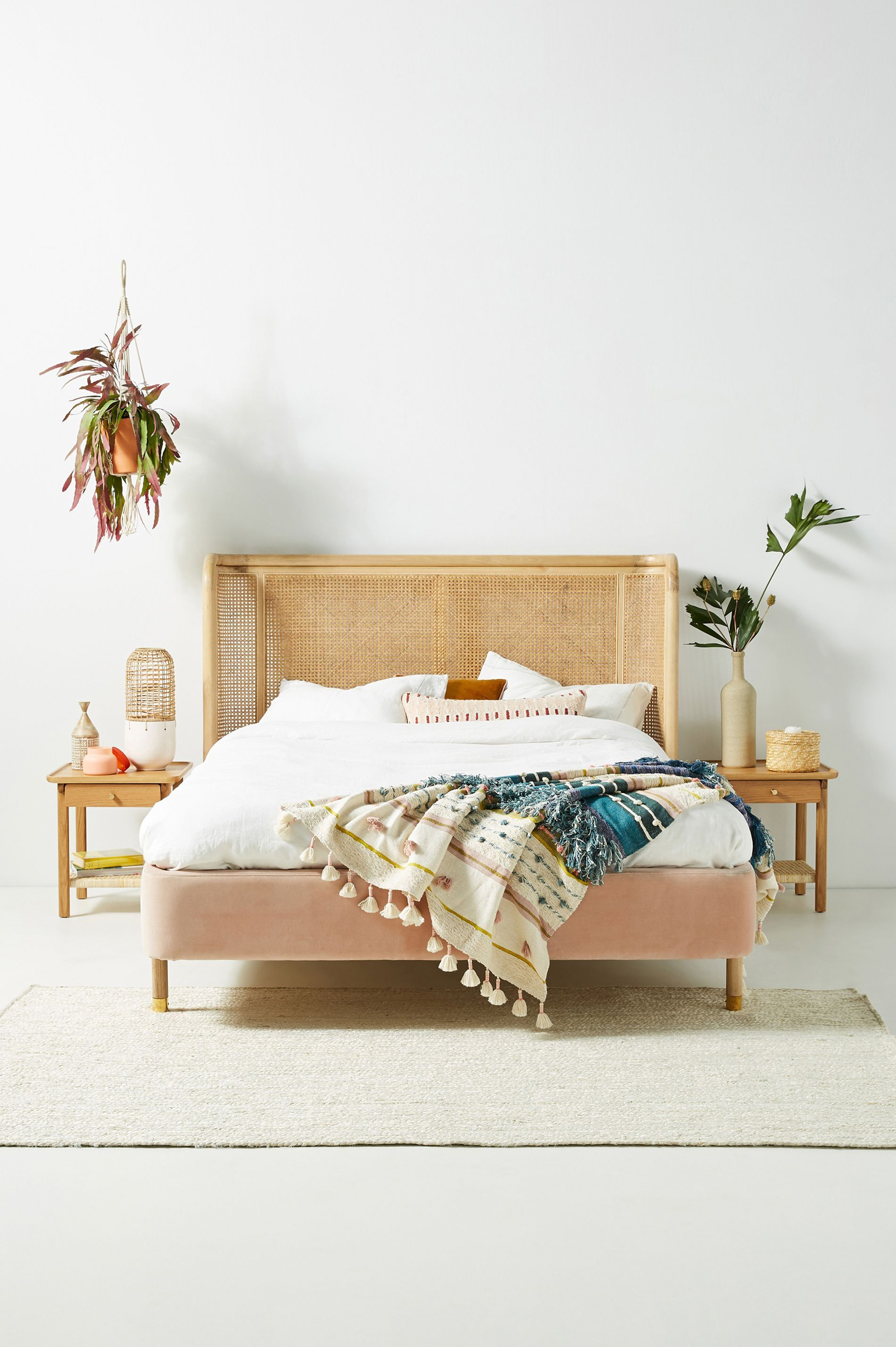 Heatherfield Bed Boho Bed Frame Home Decor Bedroom Furniture