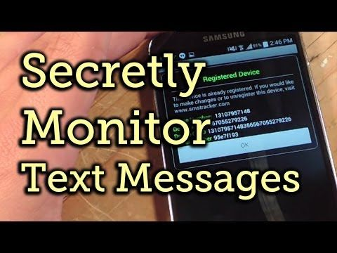 How to Secretly Monitor Someone's Text Messages on Android [How-To