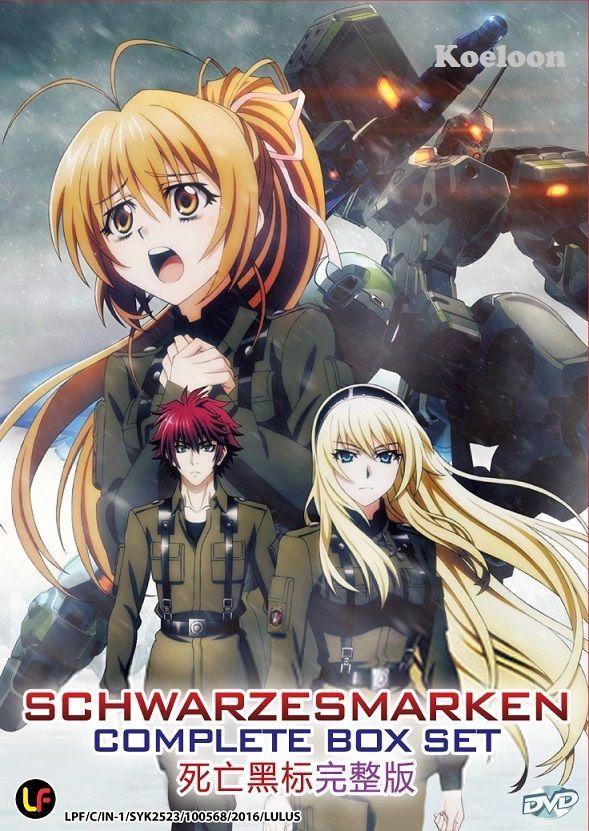 Dvd Japan Anime Schwarzesmarken Complete Tv Series (112
