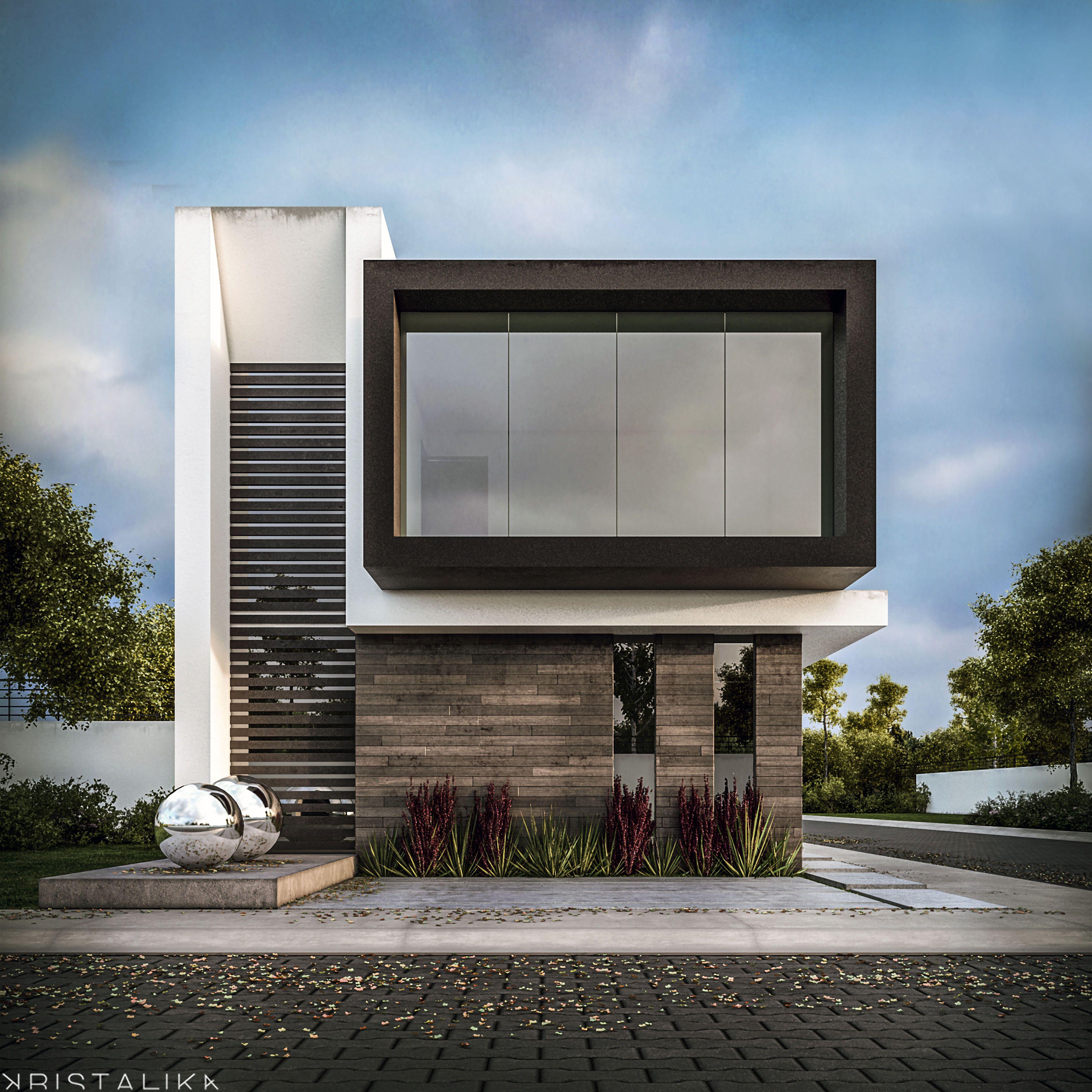 Rsi 1 house gustos pinterest fachadas fachadas for Fachadas minimalistas