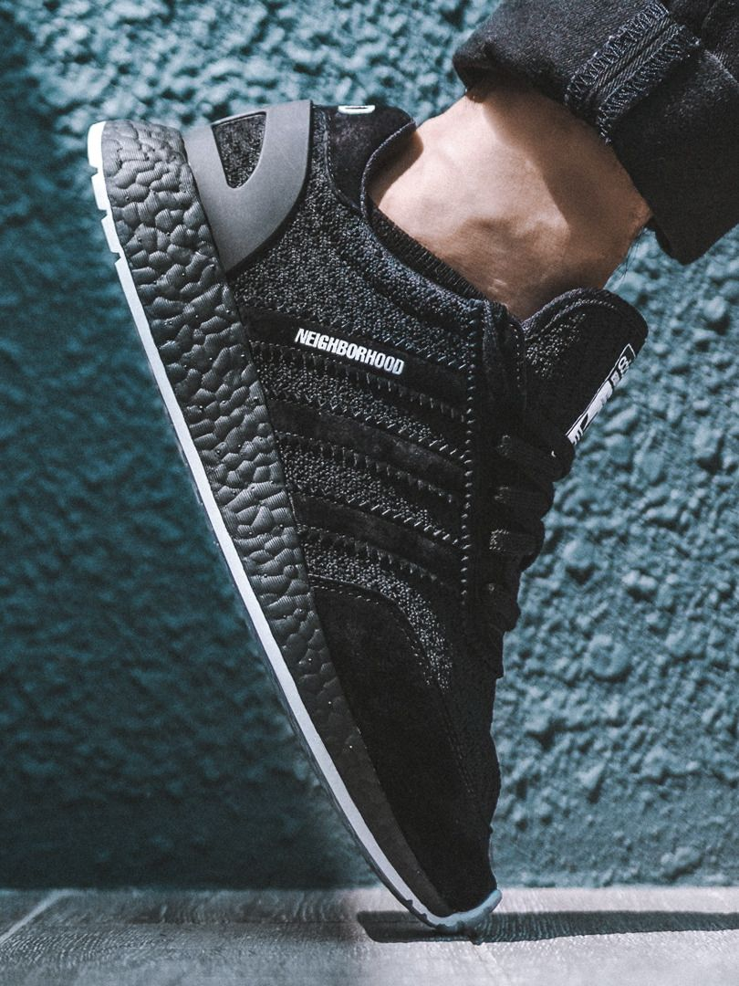 Neighborhood x Adidas Iniki Runner Boost - 2017 (by schuhspannerblog)