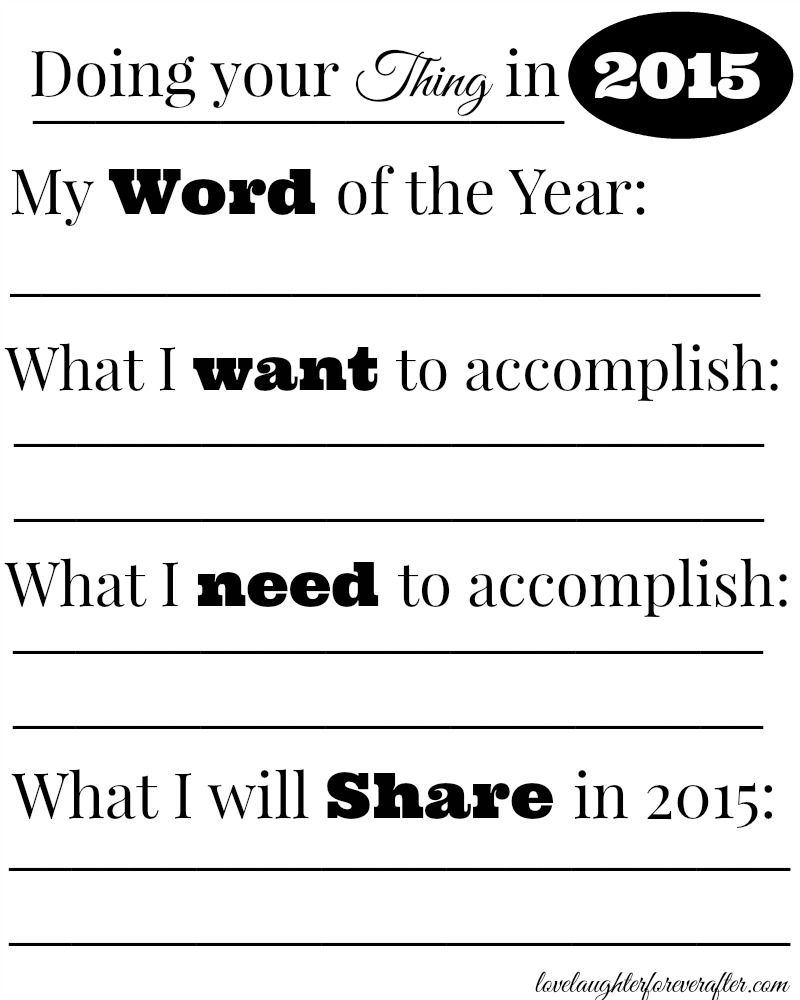 Free Printable New Years Resolution Worksheet For Kids Love Laughter Foreverafter Printable Worksheets Worksheets For Kids New Years Resolution