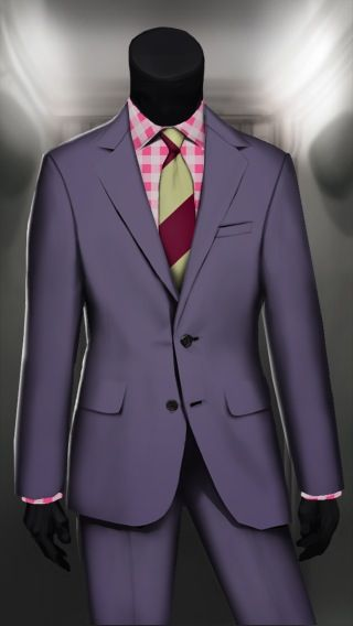 A new day means a new suit!