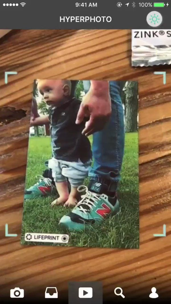 "Lifeprint on Twitter: ""Just a picture does not do justice for that memory. Capture more of your favorite memories with #Lifeprint. #babyfirststeps #thanksdad https://t.co/MJx5PKQodn"""