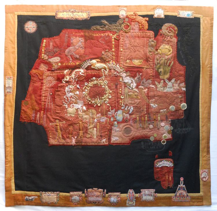 Diane Savona: Wagga Map.jpg