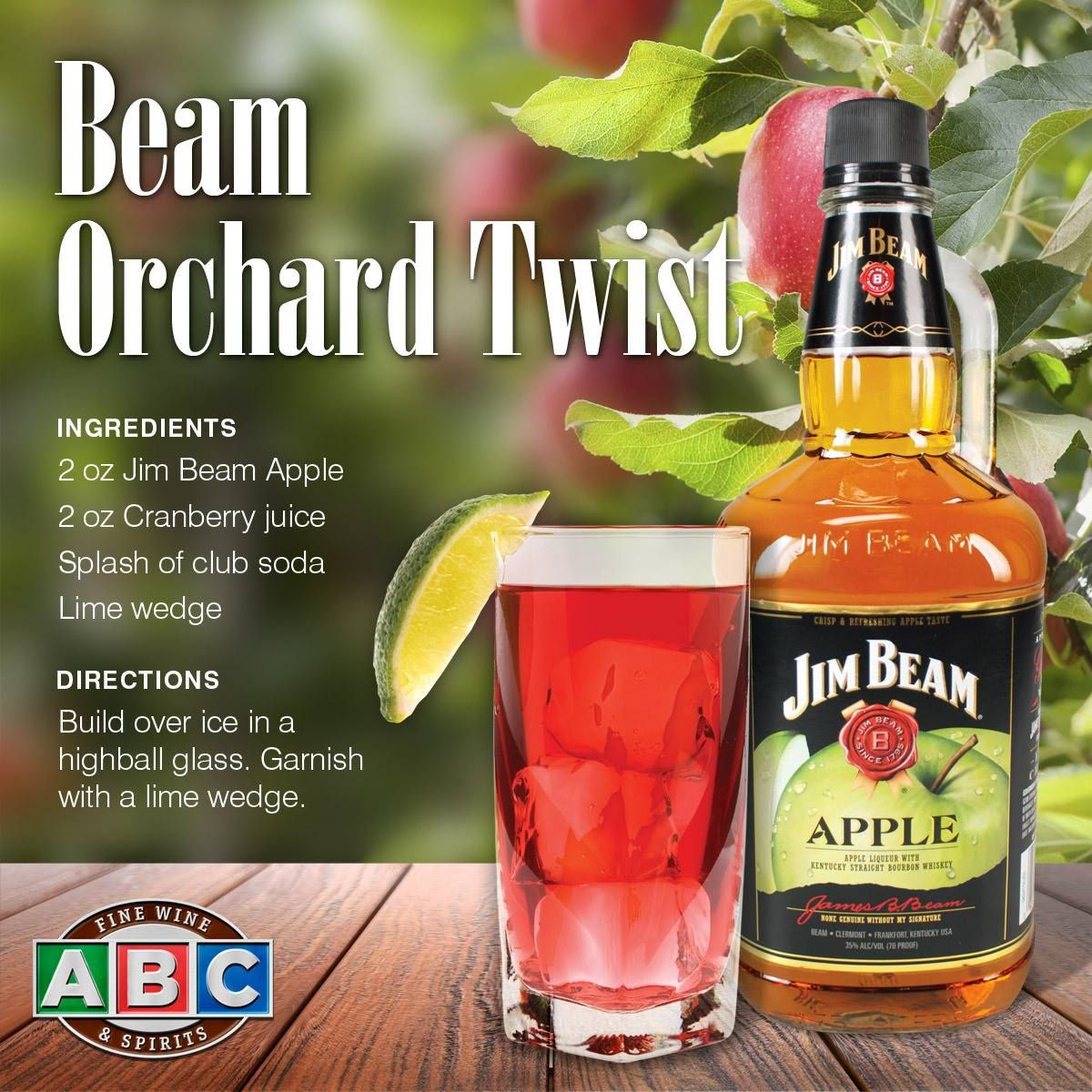 Jim Beam Apple Orchard Twist Elevate Your Tailgate