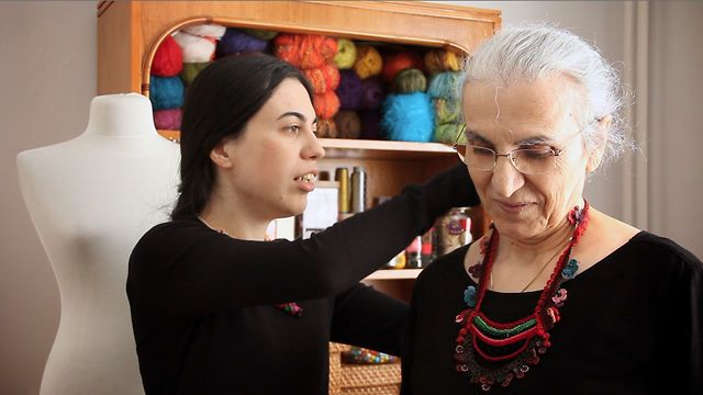 Work, life and love are stitched together for a mother and daughter in Turkey (http://irregularexpressions.etsy.com), who use their bond to create one-of-a-kind wearable art.