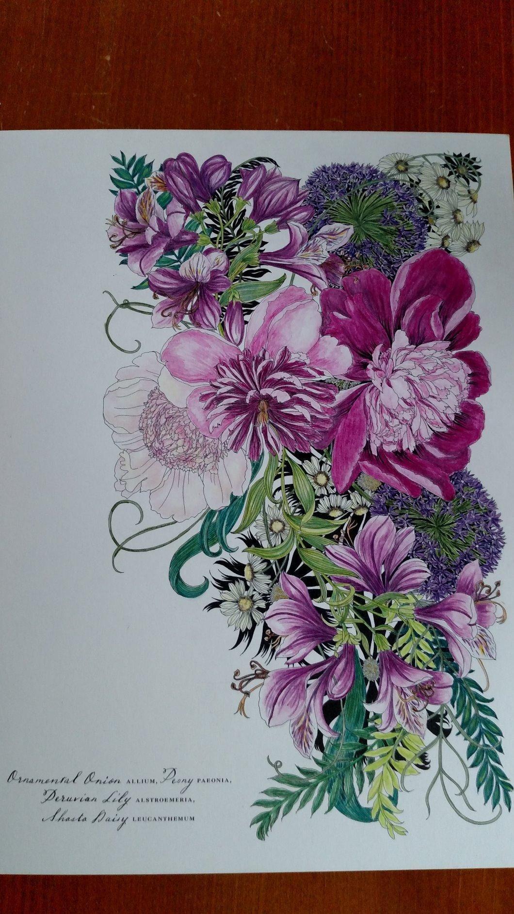 Https Www Amazon Com Floribunda Flower Coloring Leila Duly Dp 1780677685 Ref La B01i2lflwk 1 1 Flower Drawing Colored Pencil Coloring Book Coloring Book Art