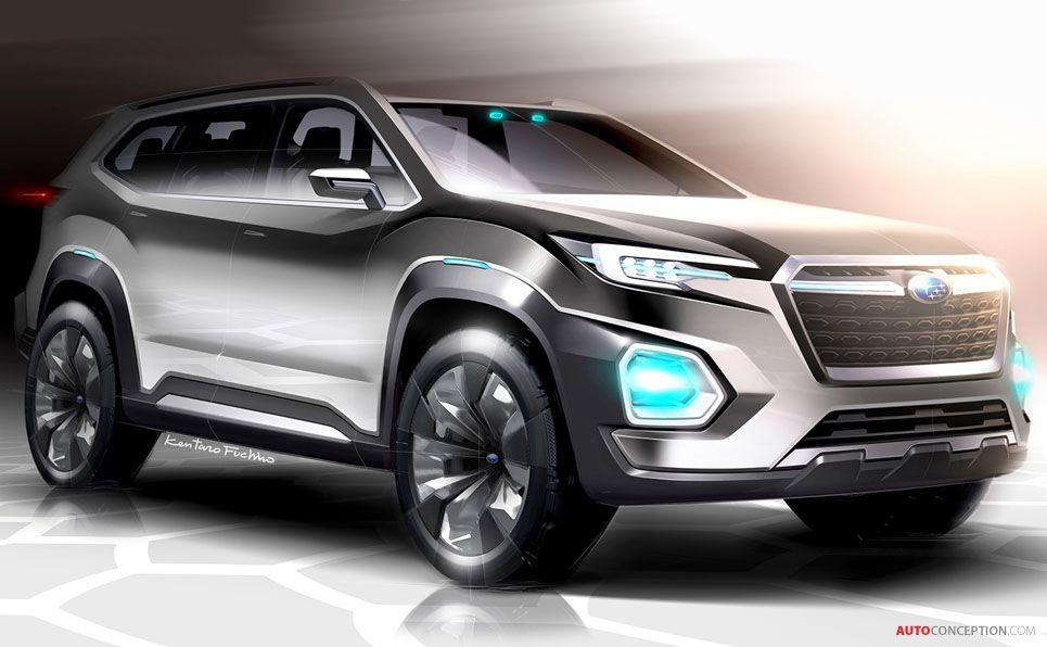Subaru Viziv 7 Suv Concept Revealed At La Auto Show With Images