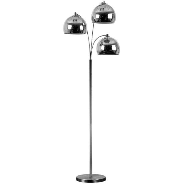 arco lighting. Modern Designer Style 3 Way Brushed Chrome Floor Lamp Complete With(680 Arco Lighting