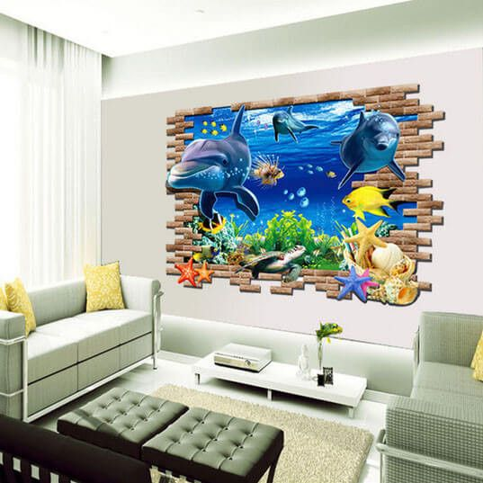 Large 3d Wall Decal For Home Decor Art Wandtattoos Haus Deko Haus