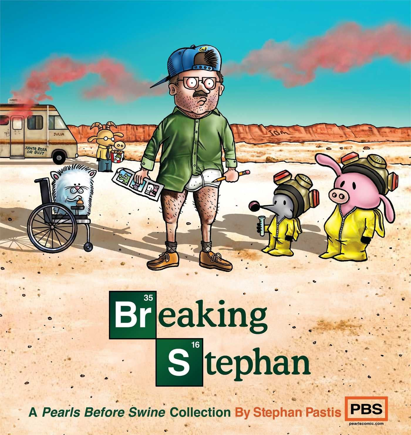Breaking Stephan: A Pearls Before Swine Collection: Stephan Pastis: 9781449458300: AmazonSmile: Books
