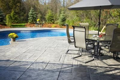 Amazing How To Stain Concrete Patio Blocks