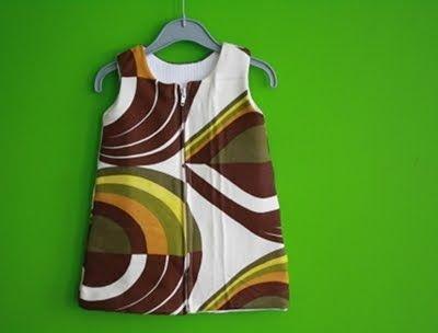 Fabrik der Träume: Kostenloses Schnittmuster Baby Kleid Größe 68