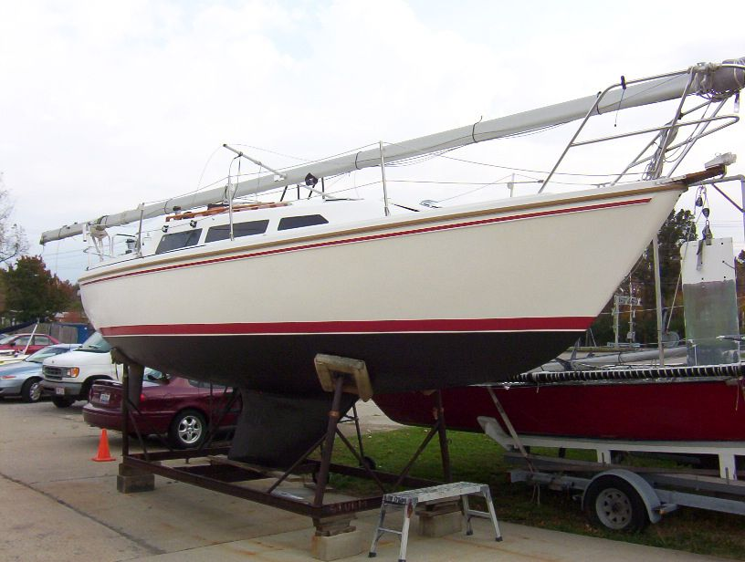 1984 Catalina 27 for sale with trailer! Tall Rig Fixed Keel