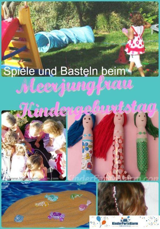 Photo of Meerjungfrau Kinder Geburtstagsspiele