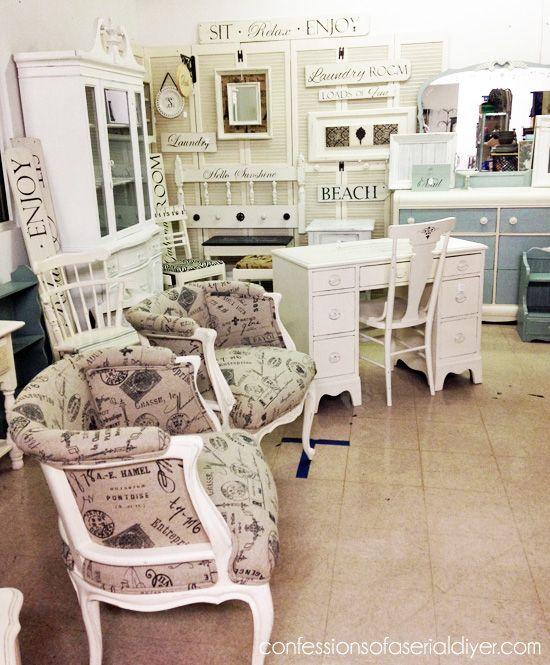 Where Can You Get Cheap Furniture: My Booth {Virginia Beach Antique Mall}