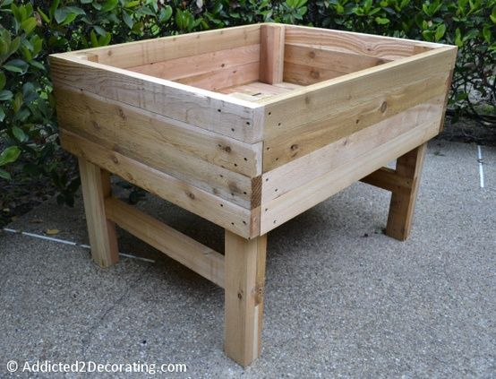 How To Build An Elevated Garden Bed Table 19 Building A 400 x 300