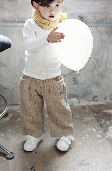 Bien a Bien Quilting Wide Pants (3C)