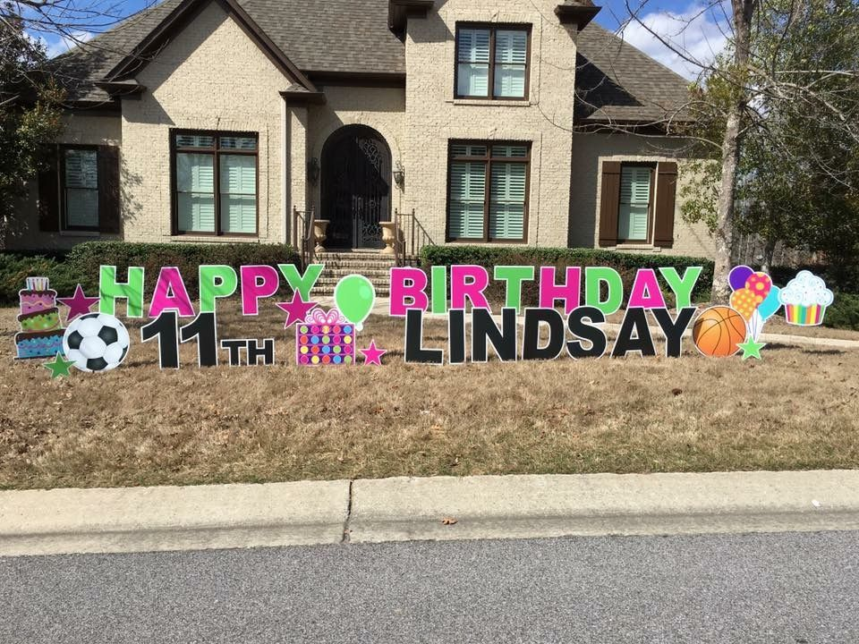 Pin by Sign Gypsies Hickory NC on Celebrations Birthday