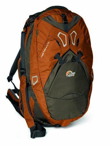 Lowe Alpine Travel Trekker II 70 Adjustable Travel Pack (Ginger/Truffle): Clothing