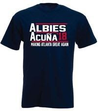 new product ad6c5 90bea Ronald Acuna Jr Ozzie Albies Atlanta Braves 18 T-Shirt ...