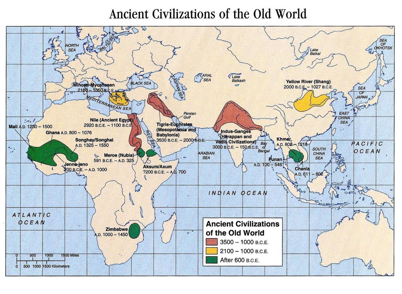 Ancient Civilizations Bce