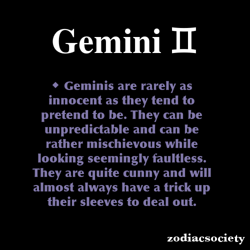 Gemini Zodiac Facts