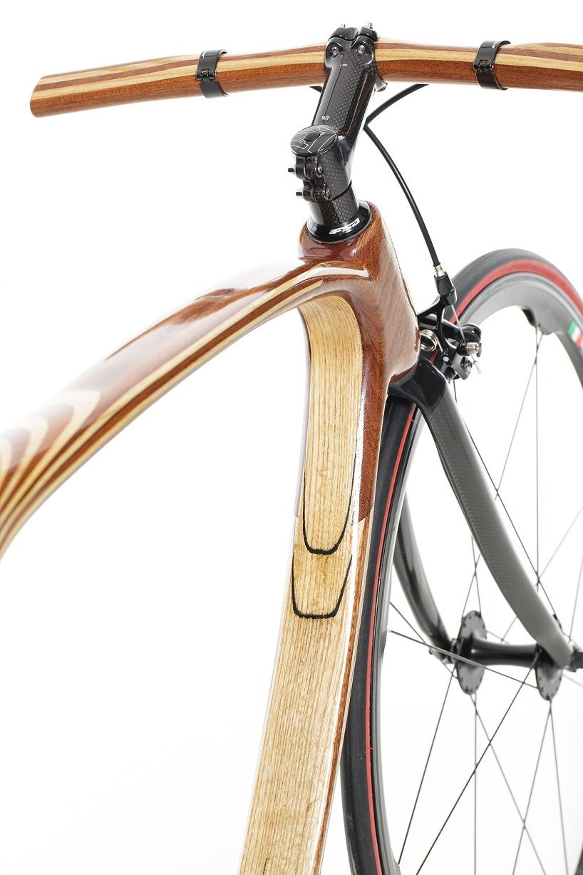 Carbon Wood Bike Uniquely Fuses Hand Craft Design And Technology