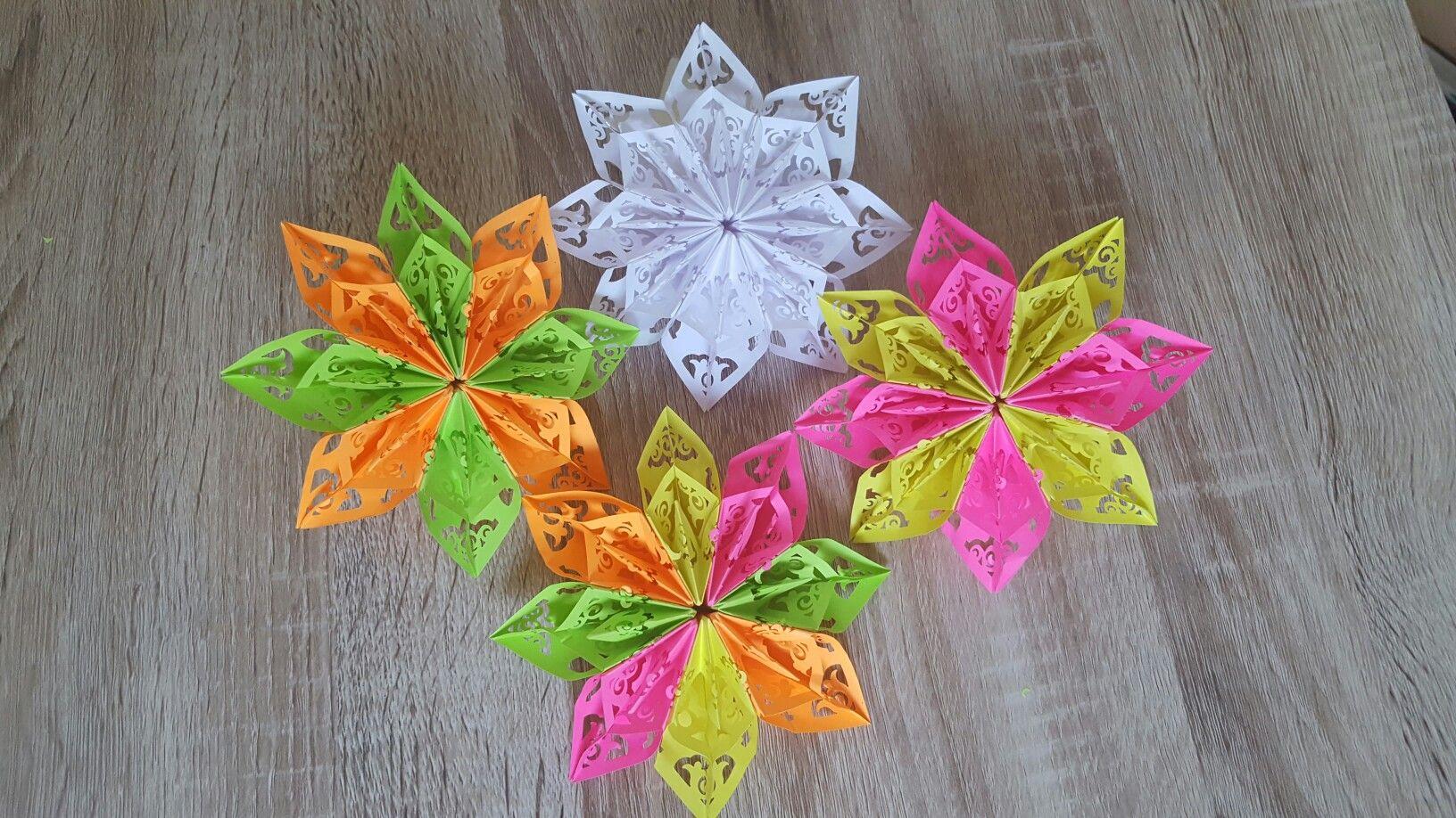 Origami flower the video on you tubeellies handmade origami flower the video on you tubeellies handmade mightylinksfo