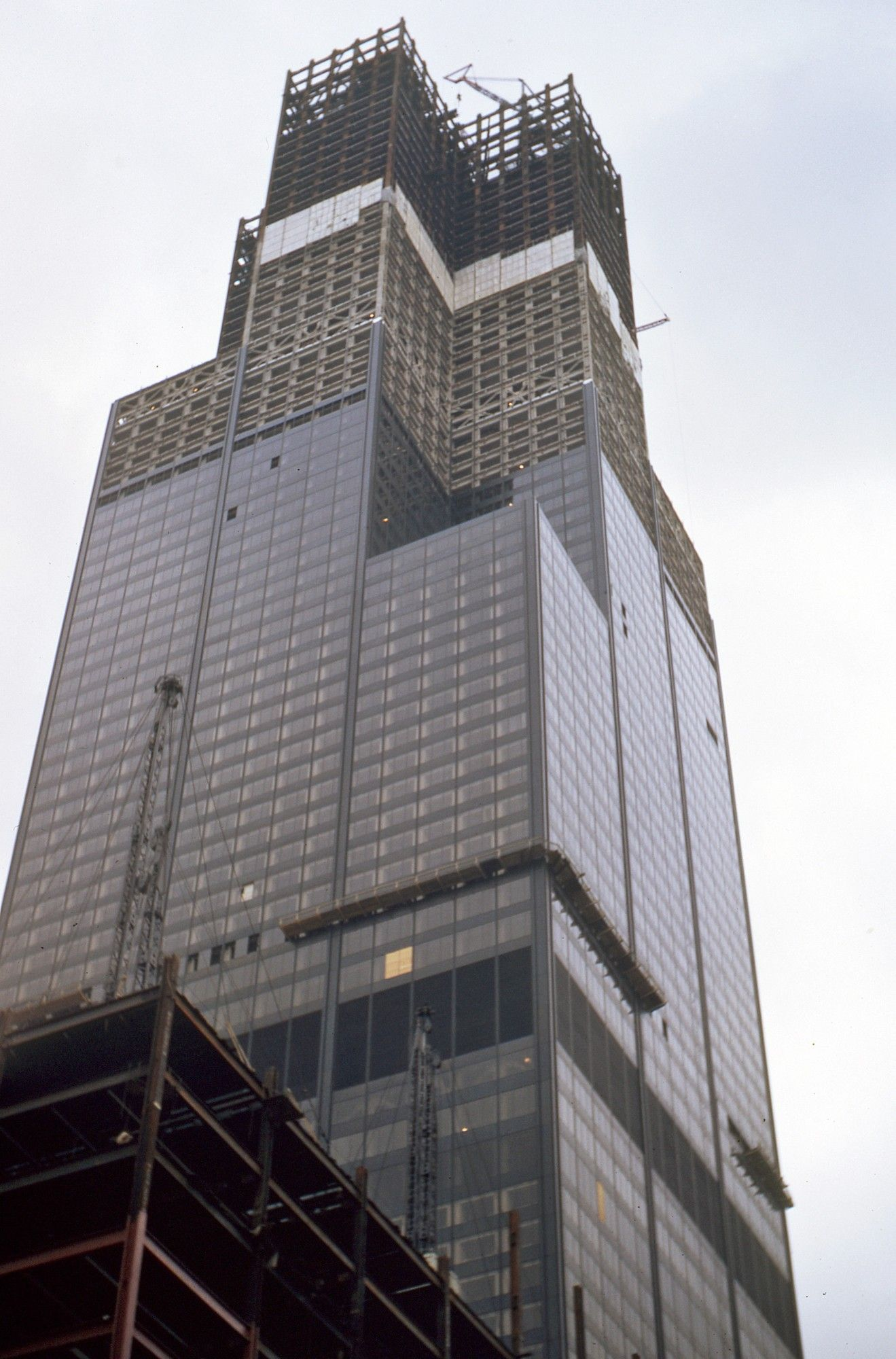 Images Of Willis Tower Willis Tower Formerly Sears Tower Under Construction
